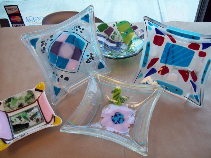 Designing Dish - Glass Fusing